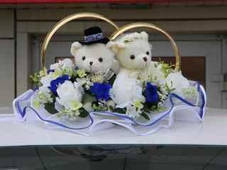 Свадебные мишки на машину своими руками