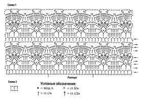 Схемы вязания крючком ажурных кофточек