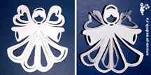 Ангел из ткани поделка своими руками в Дизайн ванной комнаты с душевой кабиной