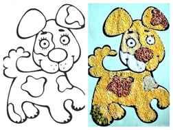Картинки для поделок для малышей