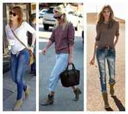 Как носить короткие ботинки с джинсами