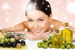 Маска для лица оливковое масло