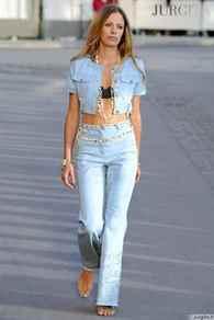 Фото модных джинсовых костюмов