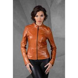 Фото кожаных курток женских классических
