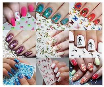 Фото слайдер дизайн на ногтях