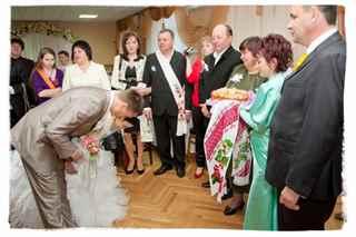 Поздравление родителей на свадьбе с хлебом и  133
