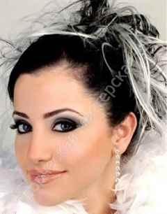 Простой и лёгкий макияж для карих глаз - пошаговое фото с