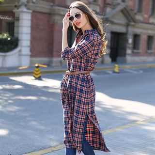 Длинные платья рубашки с чем носить