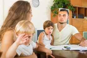 Развод если есть дети Эта