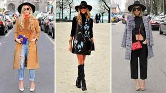 с каким пальто правильно носить женскую шляпу Выбор ЭЛЬДОРАДО!пластификаторов (для