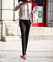 Прямые брюки женские со стрелками