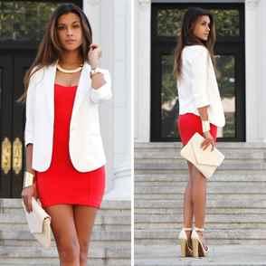 Что одеть с белым платьем фото