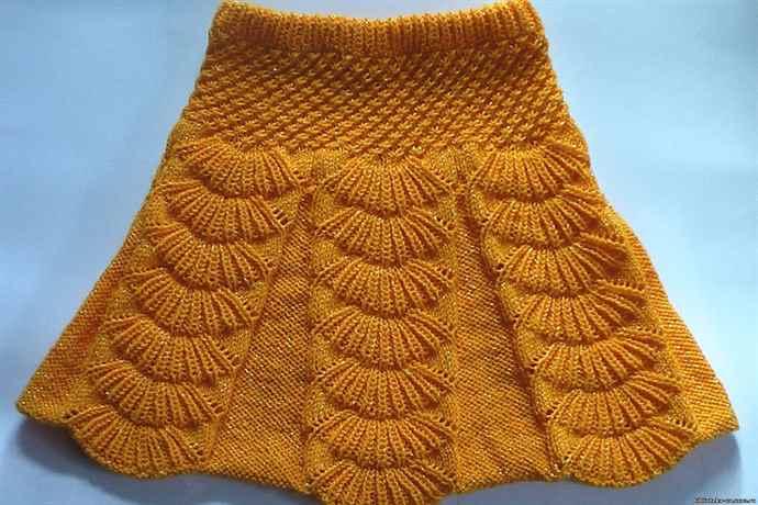 Пальто для мальчика вязание