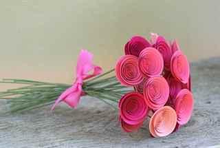 Сделать своими руками цветы из бумаги фото