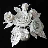 Белые лилии своими руками из фото 309