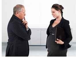 Имеют ли право увольнять мужа если жена беременна немного