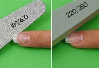 Пилочка для нарощенных ногтей