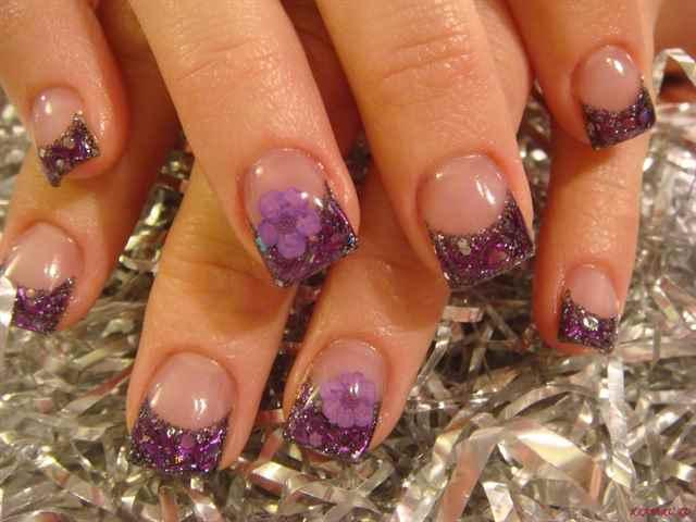 Аква дизайн ногти