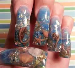 Аквариумные ногти как сделать 678