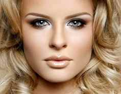Цвет бровей для блондинок с голубыми глазами
