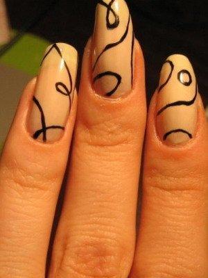 Маникюр роспись на ногтях