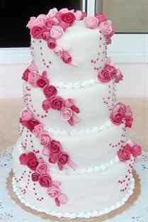 Свадебные торты из мастики картинки