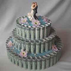 Торт из купюр своими руками фото 40