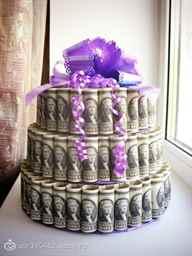 Торт на свадьбу из денег: как сделать своими руками, фото и видео мастер классы