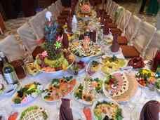 Примерное меню на свадьбу на 30, 40, 50, 60 человек, в кафе или для летнего фуршета, фото и видео