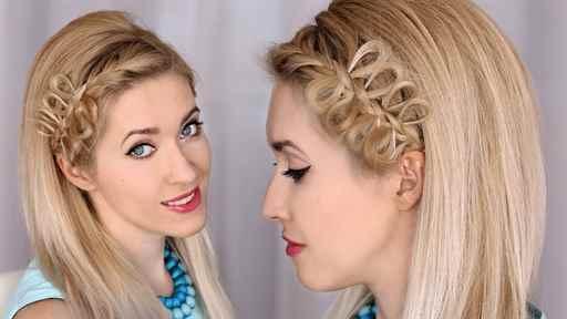 Причёски на волосы каре на торжество