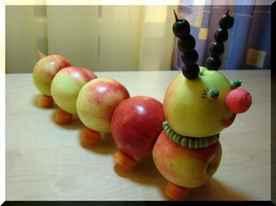 Какую поделку можно сделать из овощей фруктов