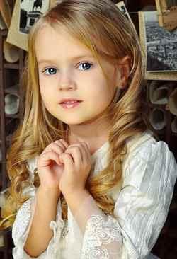 Красивый макияж для детей