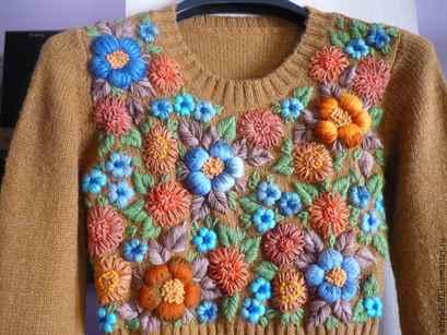 Изделия от ручное вязание 953