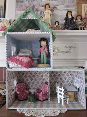 Коробки своими руками с куклами