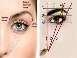 Правильное оформление бровей, как это сделать самостоятельно, фото и видео советы