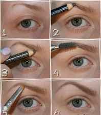 Как правильно оформлять брови