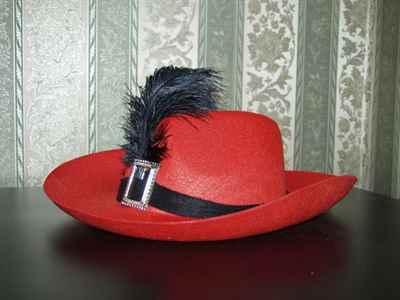 Шляпа с перьями своими руками 619