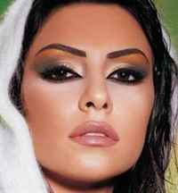 арабский макияж для голубых глаз