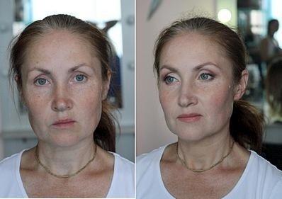 Макияж лица в 40 лет фото
