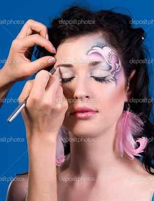 искусство макияжа видео уроки