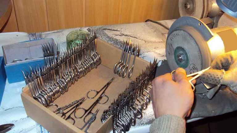 Заточка маникюрных инструментов своими руками