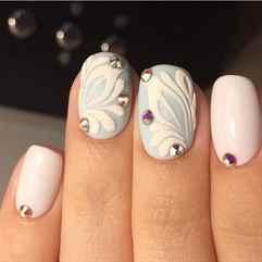 Дизайн ногтей объемный рисунок