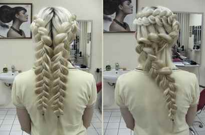 Прически на длинные волосы заплетенные