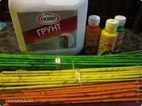 Чем покрасить бумажные трубочки для плетения
