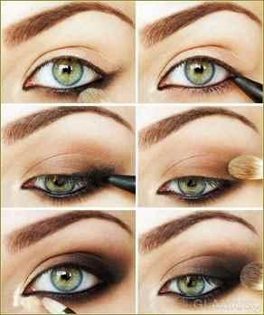 Фото красивый макияж на зеленые глаза