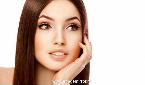 Легкий дневной макияж для карих глаз