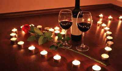 Романтический вечер для двоих дома 4
