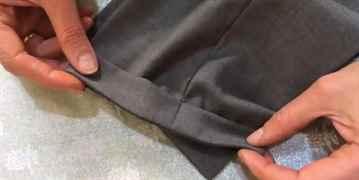 Как подшить женские брюки в домашних условиях 19