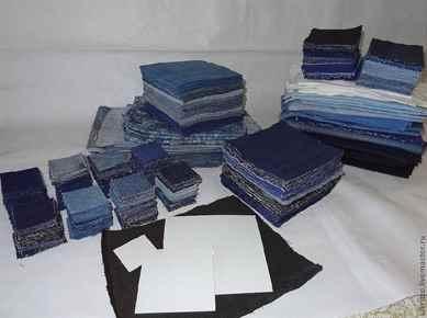 Одеяло из джинсы лоскуты сшить 69