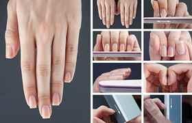 Как придать ногтям форму мягкого квадрата